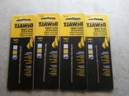 "Dewalt DW1207 Size 7/64"" Cobalt Drill Bits Split Point  Cuts"