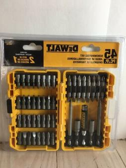 DEWALT DW2166 45-Piece Screwdriving Set ~ NIP