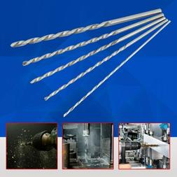 Extra Long High-speed Steel Straight Shank Twist Drill Bit T