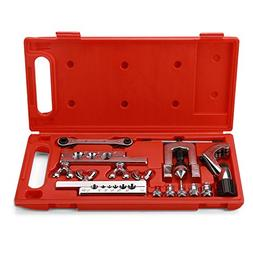 Flexzion Flaring Swaging Tool Kit - 45 Degree Brake Line Tub
