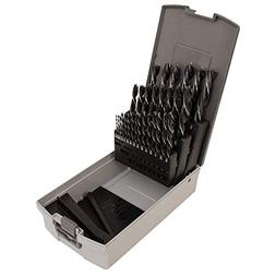 29 Piece Fractional Inch Brad Point Drill Bit Set With Index