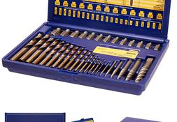 Irwin Tools Hanson Screw Extractor and Drill Bit Set, 35 Pie