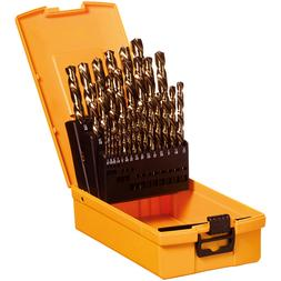 Saber IMPERIAL DRILL BIT SET 29Pieces, 135 Degree Split-Poin