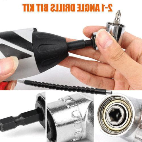 """1/4"""" Right Drill Adapter Shaft Extension Bits"""