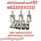 10 Pcs 6-25mm Diamond Drill Bits Set Hole Saw Cutter Tool Lo