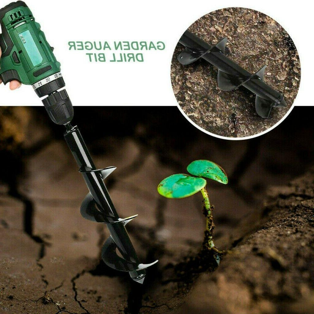 """12"""" Auger Bit Replacement Planting Spiral US"""