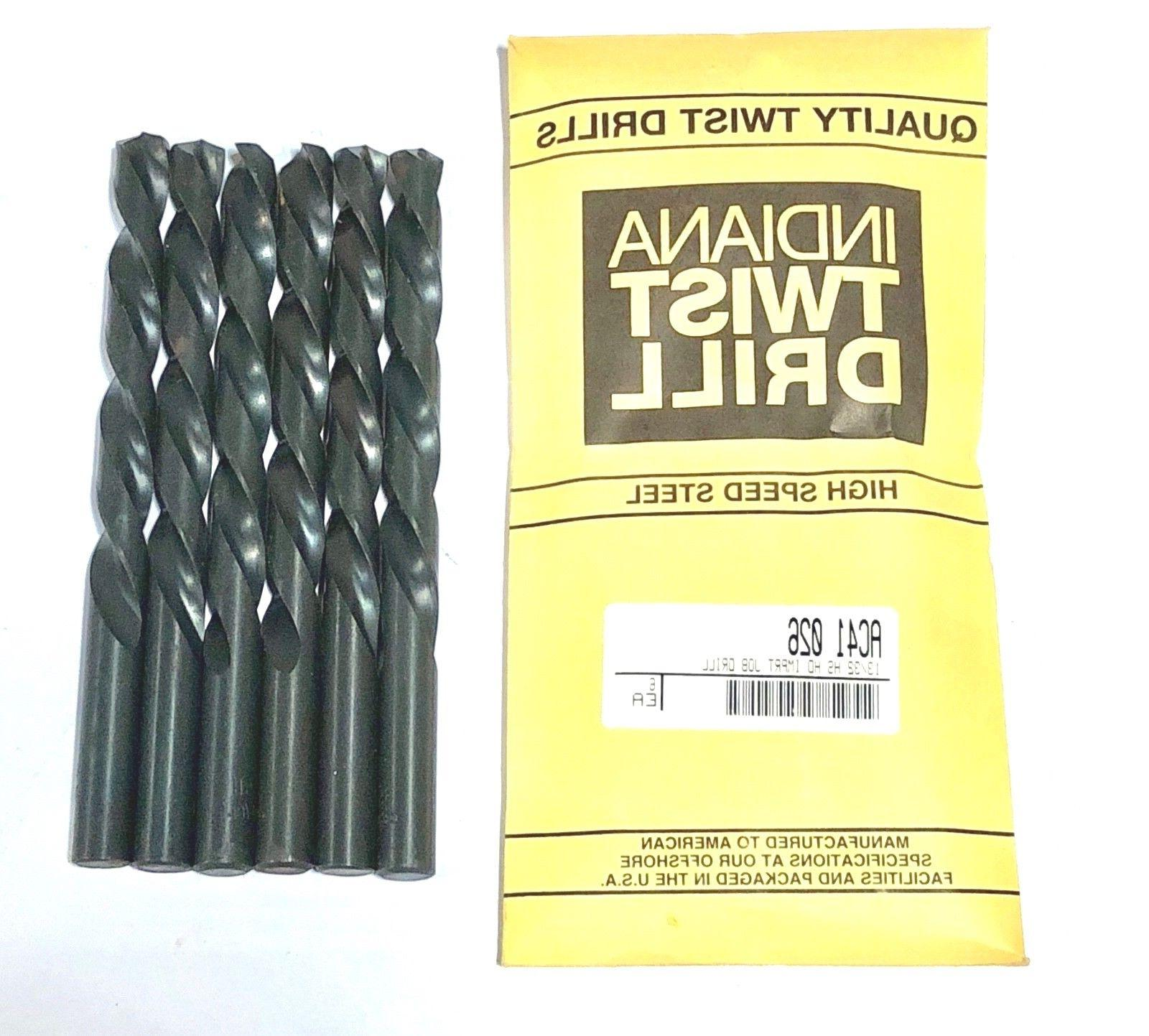 "13/32"" Drill Bit Jobber Length Heavy Duty Bits HSS 135 Split"