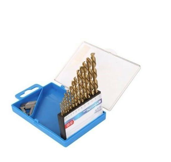 13-piece Titanium Drill Set and 4 bits by