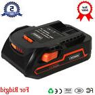 18V Hyper Li-ion Drill Battery for Ridgid R840085 18Volt R84