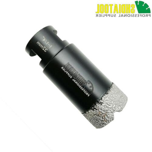 1pc Vacuum brazed diamond Dry or Wet drilling core bits Dril