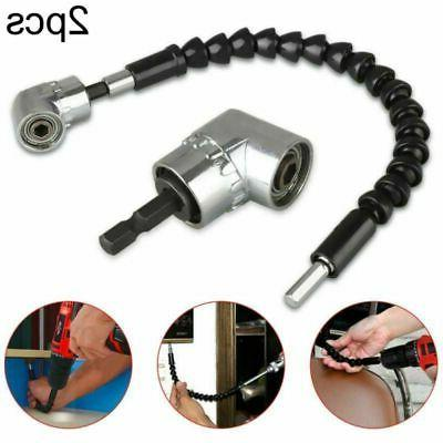 2pcs right angle drill and flexible shaft