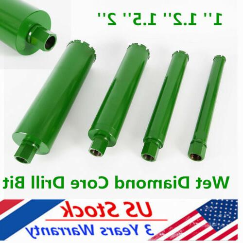 4pcs wet diamond core drill bits