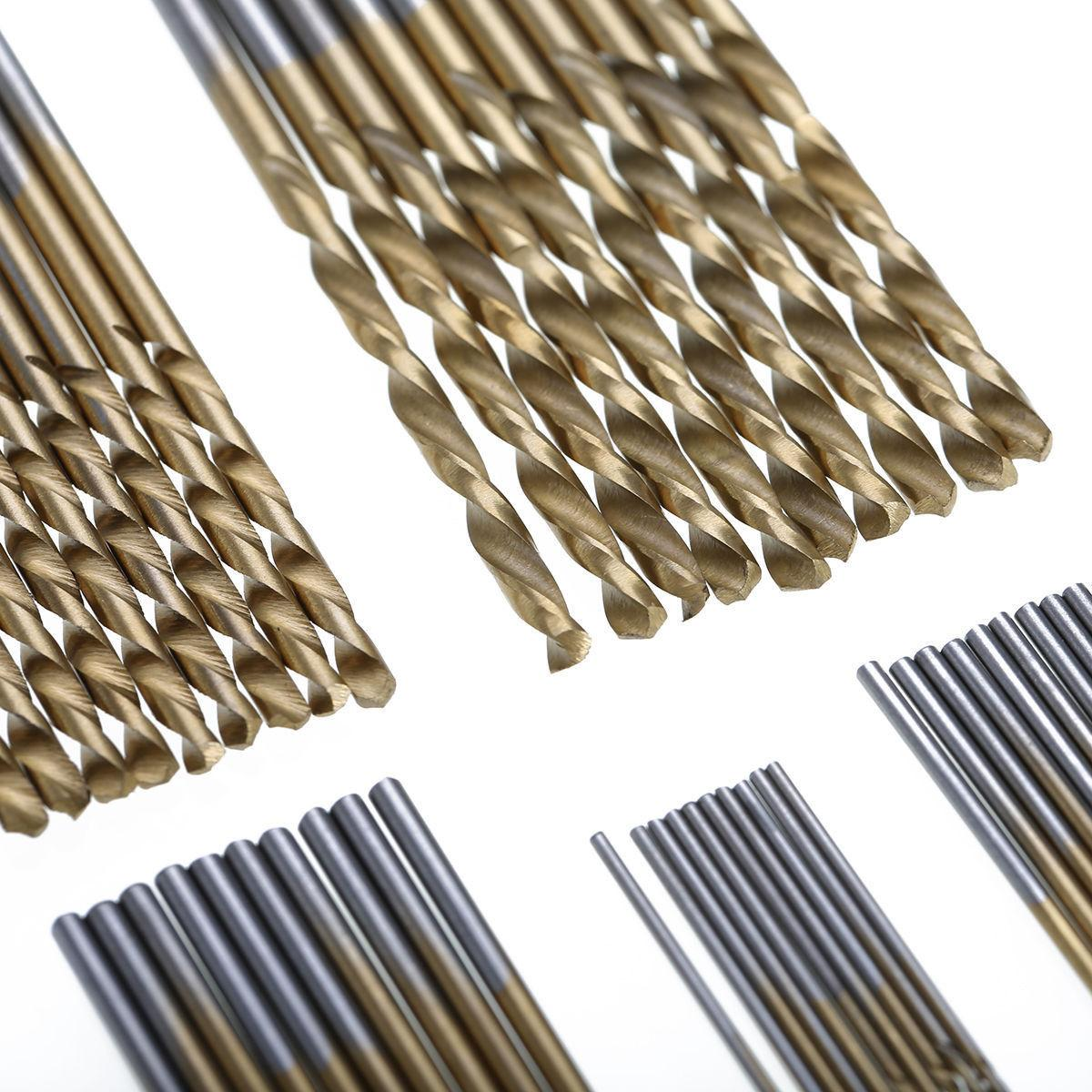 50Pcs Twist Hard Stainless 1mm-3mm