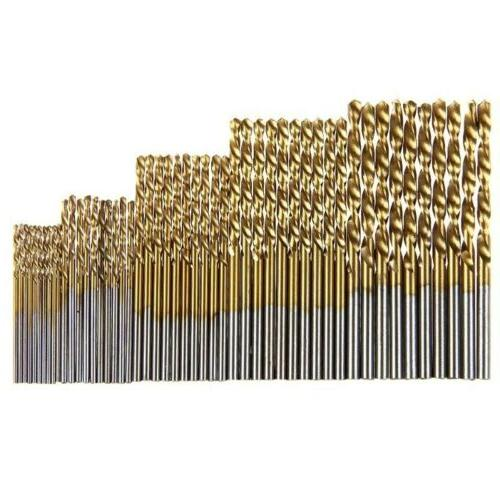 100PCS Set 1-3mm Drill Bits Twist Tools