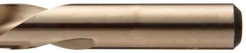 Chicago Latrobe 559 Drill Bit Metal Case, Gold Oxide Finish, 135 Degree Point, Letter Size, A -