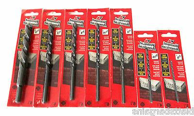 """7pc VA BY BOSCH 3"""" -- 6"""" CARBIDE TIPPED PERCUSSION HAMMER DR"""