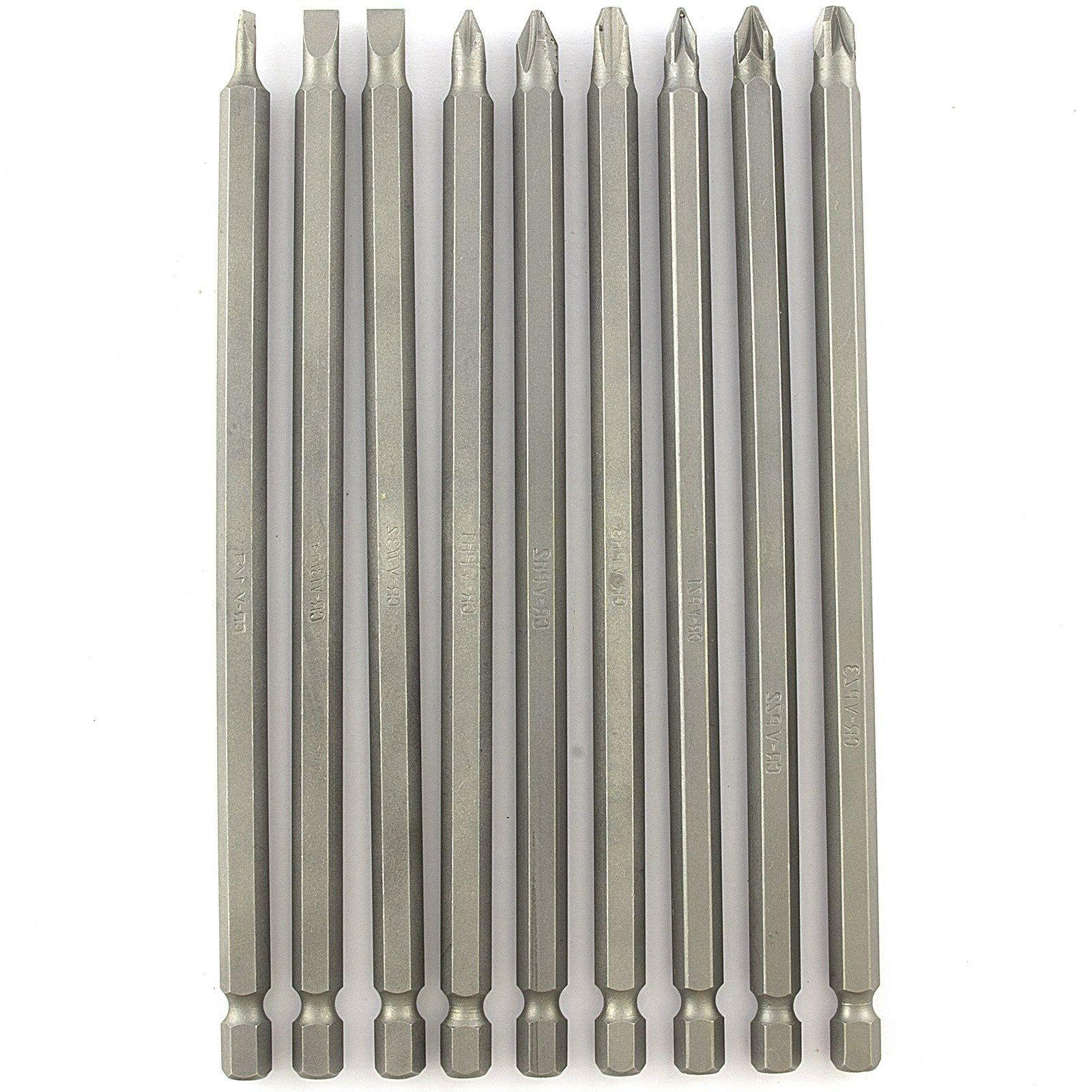 9 PIECE MAGNETIC DRILL SET