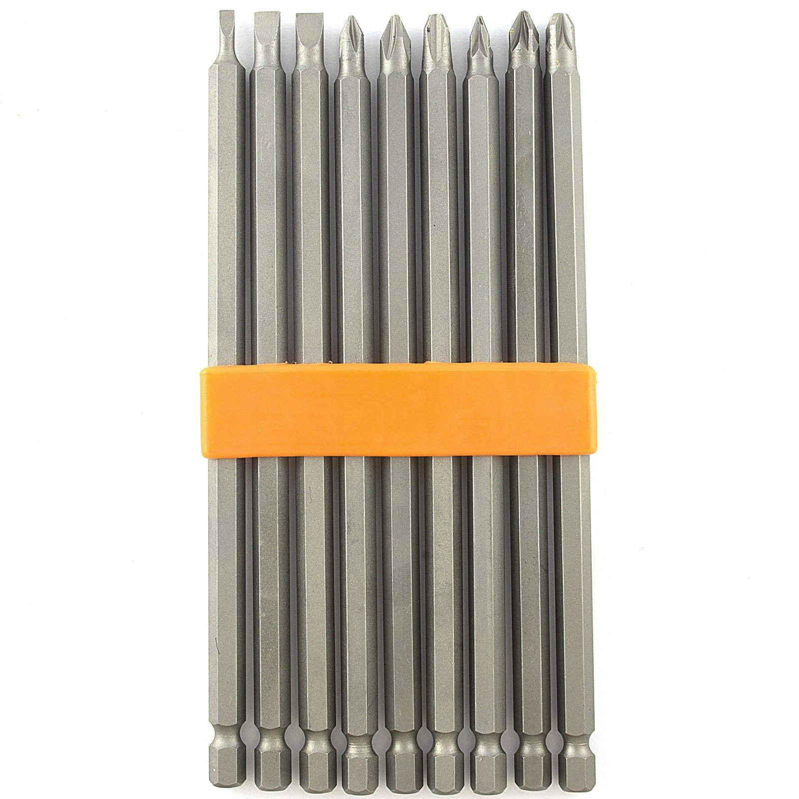 9 piece extra long magnetic 6 inch