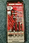 Black & Decker 4 pc Brad Point Drill Bit Set MADE IN GERMANY