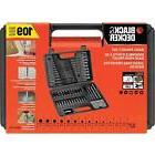 Combination Drill Bits And Screwdriver Set Power Tool Access
