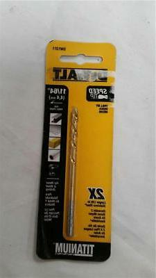 "DeWalt DW1311 11/64"" Drill Bit Titanium 4,4 MM For Metal & W"