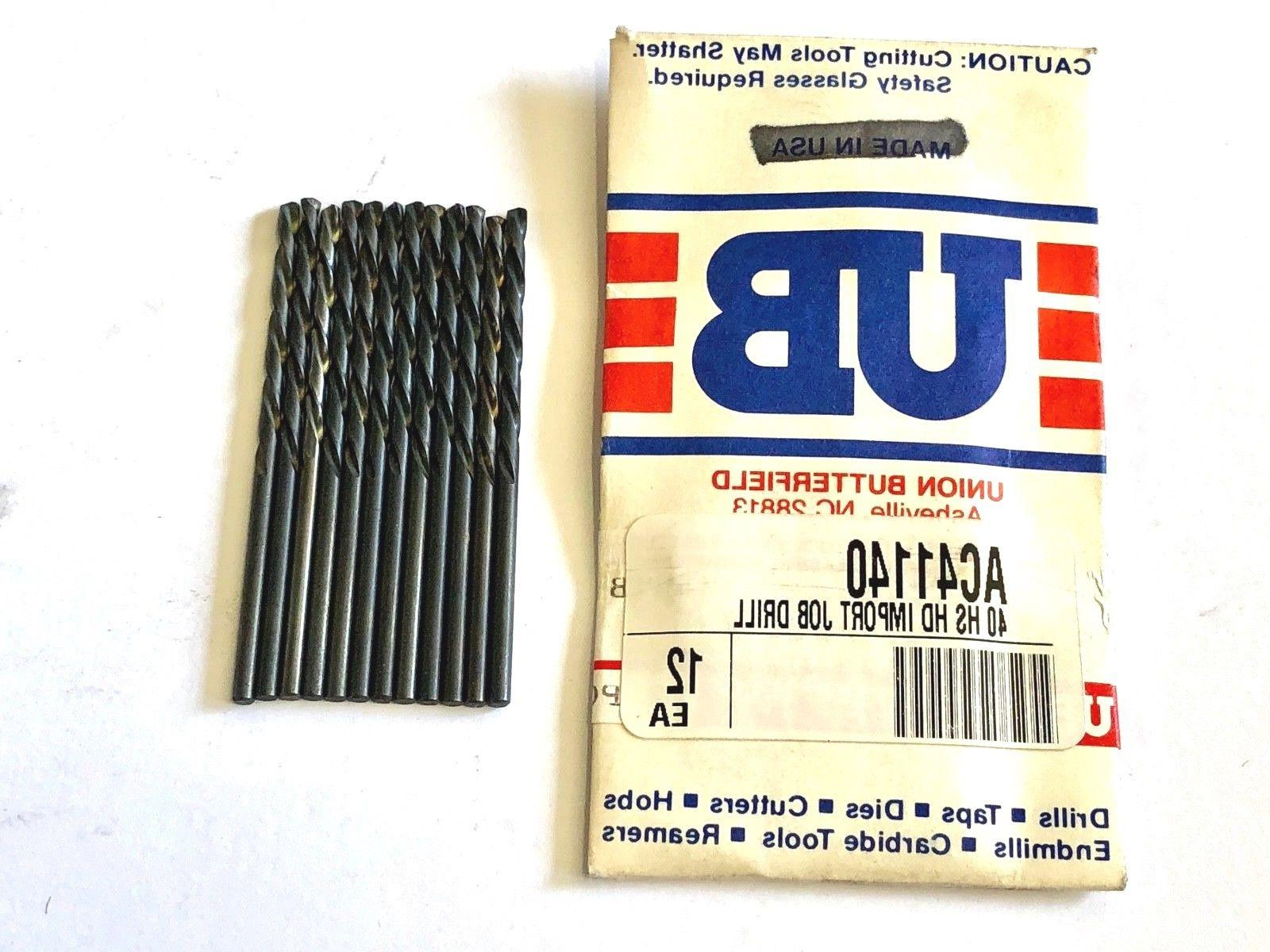 No.40 Drill Bit Heavy Duty Jobber Length Drills 135 Split Po