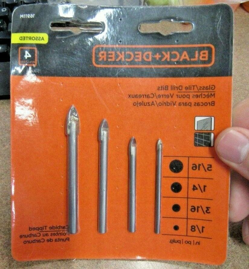 black decker 16911m glass tile drill bits