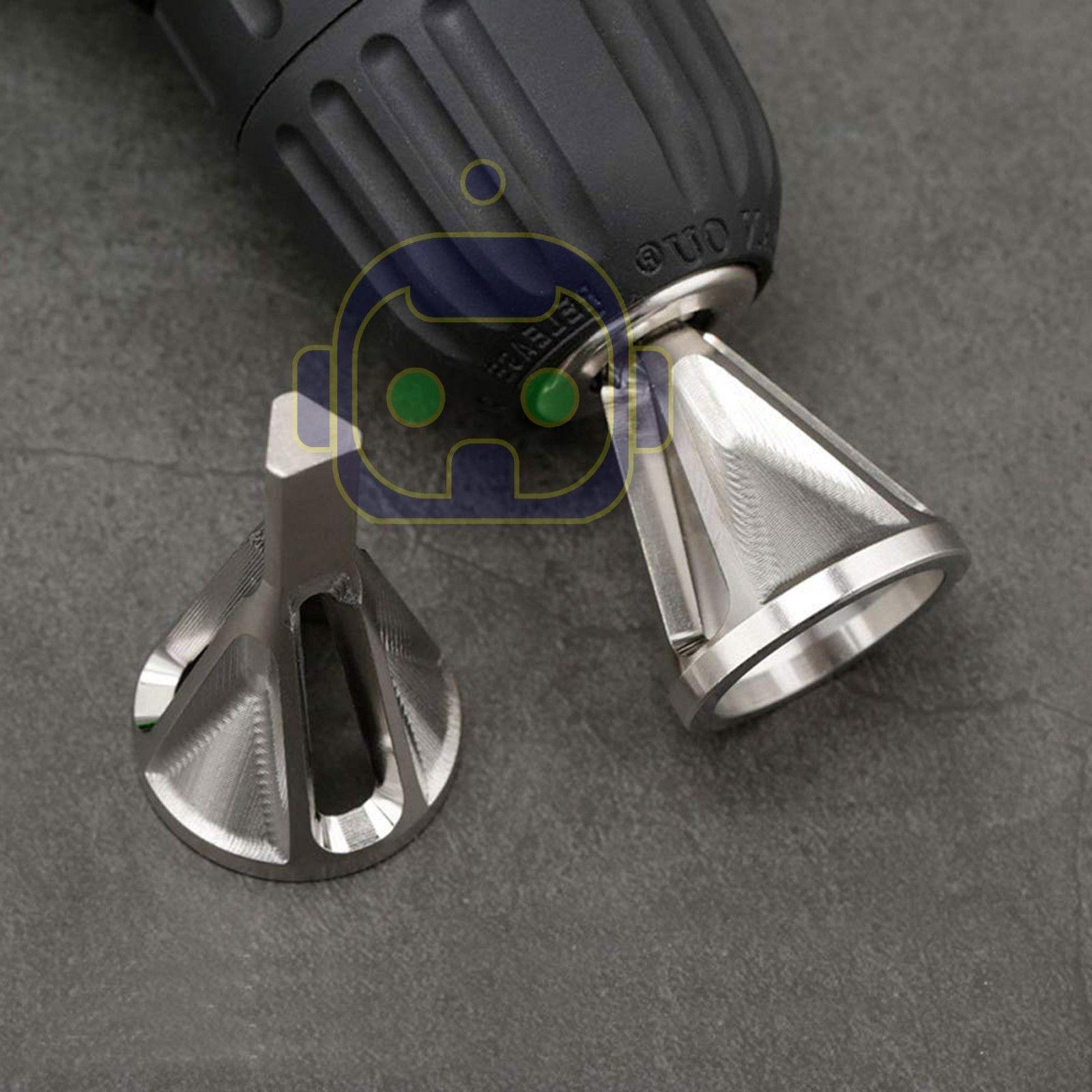 Deburring External Chamfer Stainless Tools Drill