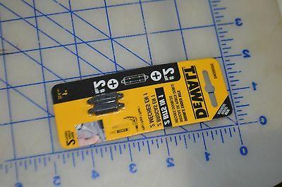 dewalt impact ready double ended bits #2 for drywall drill D