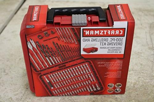 Craftsman 100 Piece drilling and