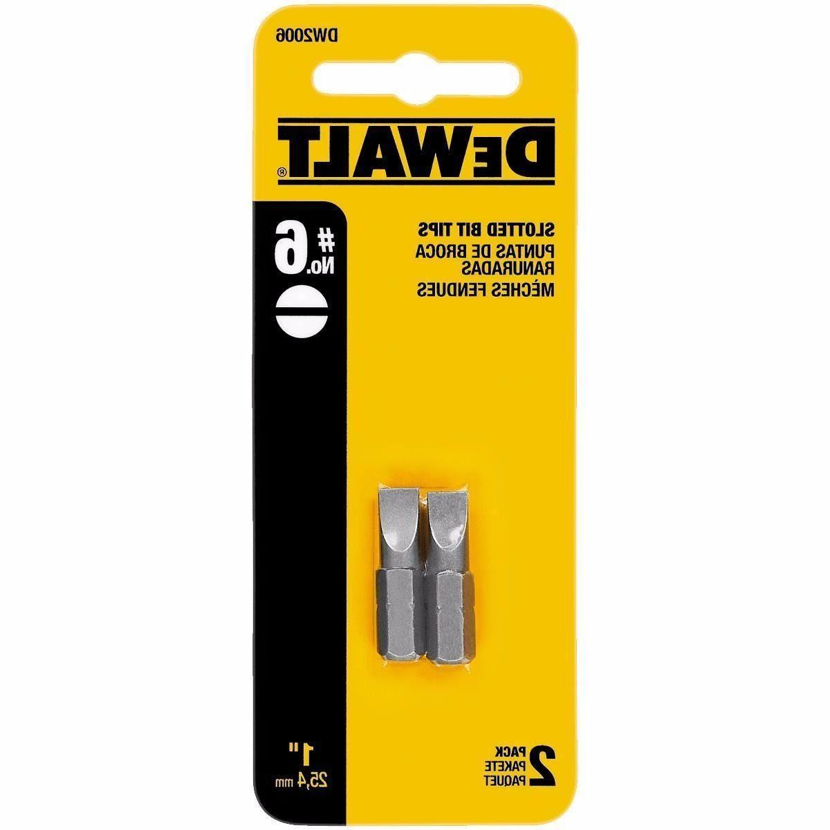 dw2006 slotted bit tip