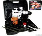 "1"" ELECTRIC ROTARY HAMMER DRILL WITH BITS SDS PLUS TOOL 3/4"