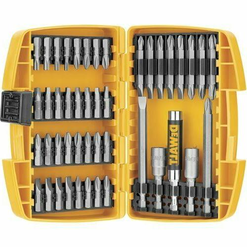 Magnetic Bit 45 Piece Impact Drill Drive Accessories