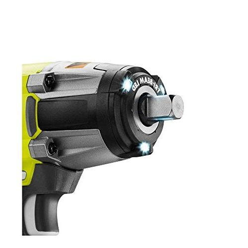 Ryobi 18 One+ Inch Cordless 300 Foot Pounds of Torque and