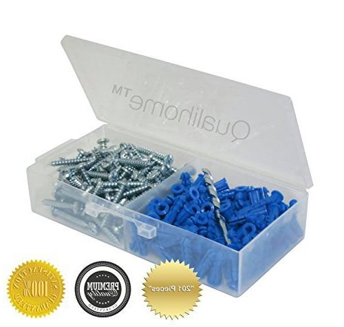 ribbed plastic anchor kit