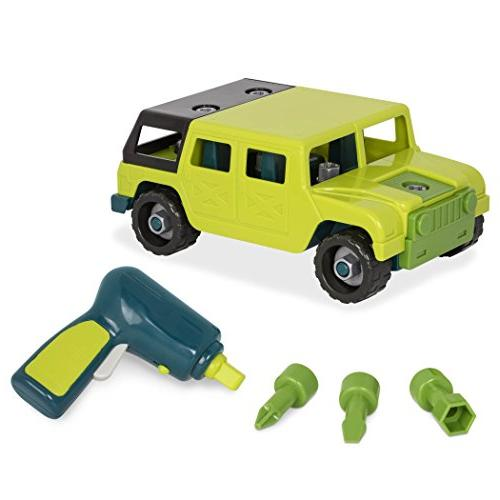 take apart jeep toy car