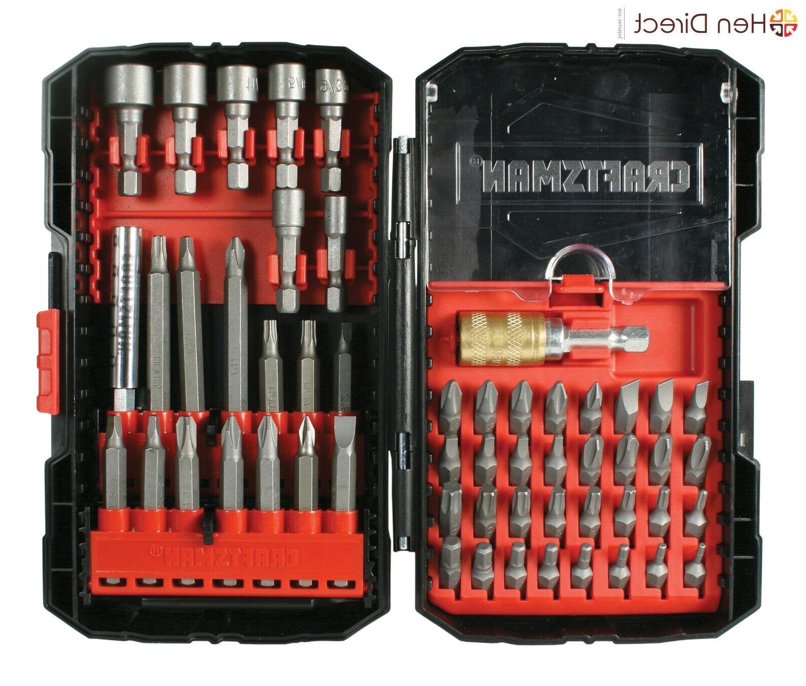 Best Craftsman Ultimate Screwdriver Bit Set 208 pcs Model 20