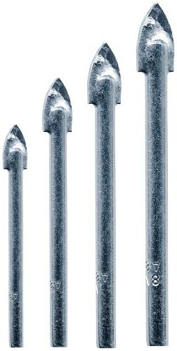 Vermont American 13310 4 Piece Glass & Tile Drill Bits