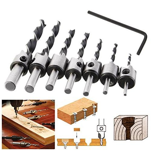 7Pcs Bits Set, Three-Pointed with Free