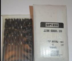 Lot of 10 ALFA TOOLS Size G DRILL BITS MADE IN USA HSS JOBBE