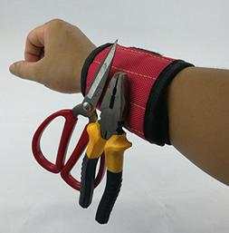 Omio Magnetic Wristband Tool Kit 2 Powerful Magnets Holding