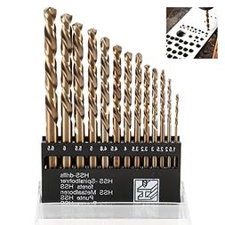 Wrightus Metric M35 Cobalt Steel Twist Drill Bit Set HSS Ext