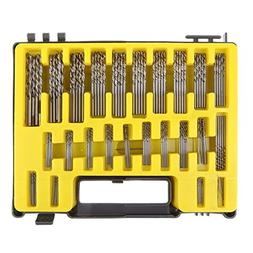 UEB Mini twist drill Bit Kit, 0.4mm-3.2 HSS Micro Precision
