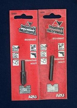 NEW VERMONT AMERICAN 2 PIECE WOOD, METAL, PVC COUNTERSINK DR