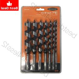 new auger drill bit set 7 pcs