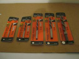 NEW BLACK & DECKER 5pc. BRAD POINT DRILL BITS