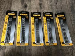 NEW DWA5103 DEWALT MASONRY DRILL BITS! 5 Sets!