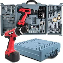 Hi-Spec 18V 800mAh Power Cordless Variable Speed Drill Drive