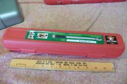 """Neiko Pro  m6 1/4"""" Inch Drive Adjustable Torque Wrench, 50 f"""