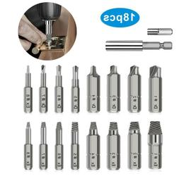 Screw Extractor Easy Out Set Left Hand Drill Bits Spiral Flu